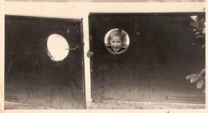 שער החצר של הבית שבו למדתי קרא וכתוב