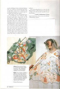 Fiberarts  Mar/Apr  2003 , p. 39-40