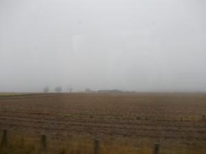 ברכבת לגלזגו -ומזג אויר סקוטי קלאסי