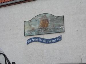 כתובת על קיר בנמל