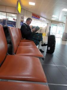 'סקוטי אמיתי' בשדה התעופה
