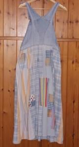 גב החצאית עם הלבבית