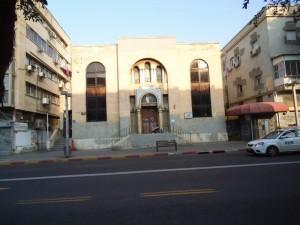 בנין 'בית מושב זקנים' של תל אביב ה'ישנה'