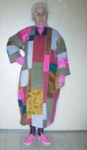 שמלת שאריות הקורדרוי