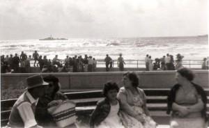 שיט חיל הים ביום העצמאות 1957 בתל אביב