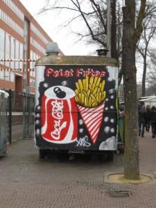 ציפס הולנדי אמיתי עם תוספת אמריקאית