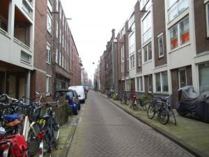 הרחוב שבו התארחתי