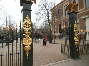 שערי ארטיס גן החיות העתיק של אמסטרדם קרוב קרוב למקום מגוריי
