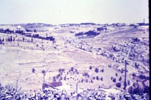 הארי כהן- גבול ירושליים 1963