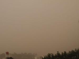 8 ספטמבר 2015 בצהרים סערת חול על כל הארץ