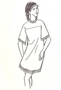 שמלת 'ילידה אמריקנית'