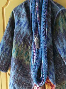 מעיל קנוי צילום לינדה צעיף שאני צינרתי